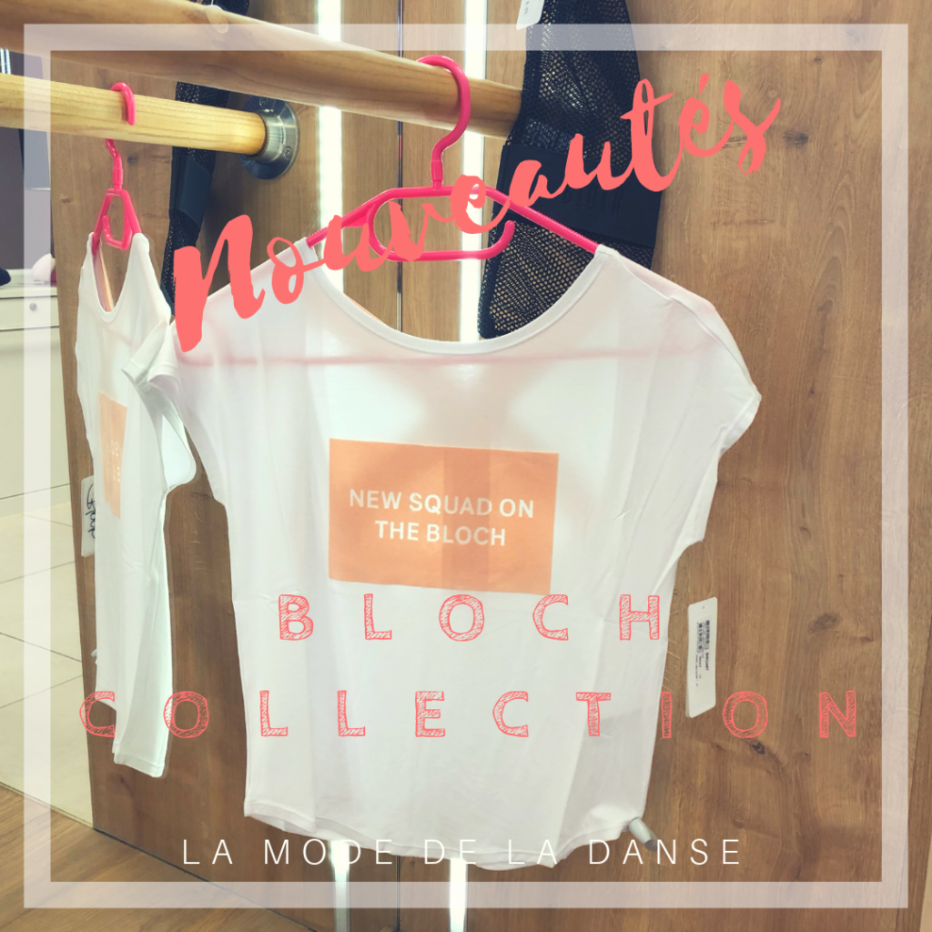 T-shirt adulte Bloch Collection Printemps 2019