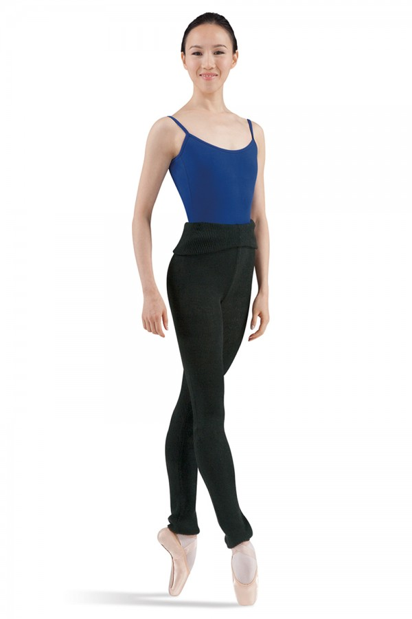 Bloch Pantalon en laine P0928 Black